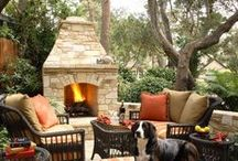 Bringing the indoors out / Outdoor living spaces