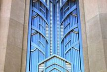 Art Deco architectural elements / Art Deco buildings and the details we are fond of