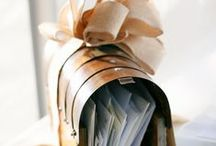 wedding card holders / a stylish vessel for your gift cards