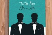 invitations / your guests' first peek at your wedding style