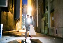 urban chic weddings - photo inspiration / love in the city