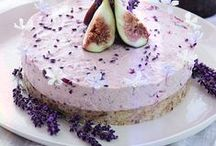 Food and Drinks / Recipes  Healthy, Raw, Vegan for Desserts, Salads, Sandwiches   con  Edible  Flowers so delicious
