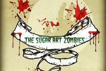 The Sugar Art Zombies / A small collaboration of zombie loving cake pals from around the world creating something scary from sugar!