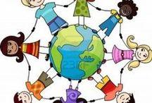 děti,země,rodina