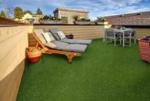 Ideas for faux grass