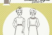 sewing patterns / A collection of sewing patterns for beginner and advanced sewers.