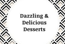 Our Delicious Desserts / Choose from a variety of sweet offerings including our Signature Toffee, Chocolate Covered Pretzels, Chocolate Chip Cookies, Grand Tortoises, Caramel Apples & Much More...
