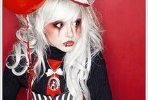Circus / Freak Show - Festa Temática de Halloween / Inspiração em decoração e fantasias para sua festa de Halloween!!!