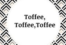 Toffee Lovers / Indulge your sweet tooth with Toffee Break's Signature Toffee flavors: Traditional, Cookies n Cream, Raspberry & Pretzel.