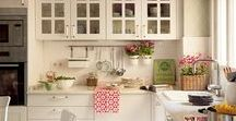 Kitchen / Kitchen, dining room and place settings inspirations