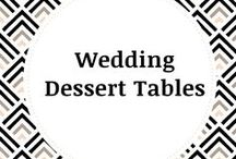 Wedding Dessert Tables / Not only do we enjoy making individualized desserts for you to enjoy all year, we also specialize in sweets tables at weddings!  Toffee Break Desserts offers a high quality assortment of chocolate desserts ranging from our signature toffee all the way to chocolate covered strawberries and everything in between!  Visit our website https://toffeebreakdesserts.com/ and visit our events page for more information!