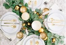 Tablescapes / Table setting for every occasion. From day to night, from ordinary to extraordinary.