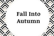 Fall into Autumn / Fall into Autumn - a collection of fall related decor, food more! Thanksgiving ideas & Halloween ideas. Fall decor - halloween decor - fall desserts - halloween desserts - thanksgiving decor - thanksgiving desserts - all things fall