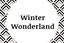 Winter Wonderland / This board contains all things related to winter and holidays! From Thanksgiving to Christmas and Hannukah to New Years, this board has it all! Dessert, decor, DIY and fashion inspo for you to have the best winter yet!!