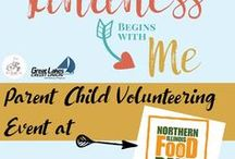 Lake County Gives Back / Ways to give back to your community through volunteering, donating, or participating.