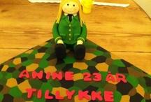 Fondant Cake CakesbyM / Fondant kager