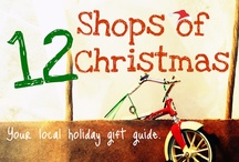 12 Shops of Christmas {2012} / Shop local this holiday. Dec 3-14 we're featuring 12 great Lake County shops for you to consider doing your holiday shopping at.