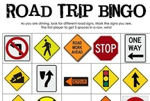 Road Trippin' / Traveling? These tips, tricks and games will make the ride more fun.