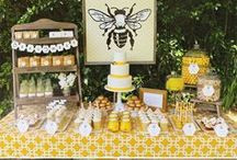 Bee theme events / just some great  for events ideas based on bee theme