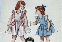 Pinafores / Nothing looks as sweet on your little girl as a twirly little pinafore! Worn since the 1800s, the popularity of pinafores for babies and toddlers has endured through generations.