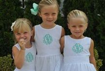Monograms / Grammie's Attic has many items that can be customized just for your little one!