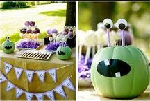 Monster Party / Bright colorful monster party ideas!