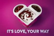 It's Love, Your Way / Six great Mixim flavors. Add your own touch.