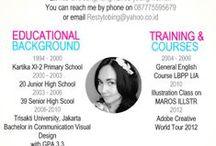 CV & Portfolio Ideas
