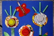 Recycled Crafting / Fun crafts and activities we find that use things you have on hand.