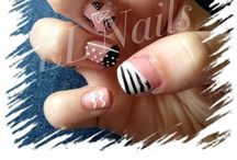 Freehand nail art / Various nail art designs
