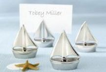 Nautical Wedding / June means wedding season – if you're envisioning a nautical theme these wedding ideas make tying the knot memorable.