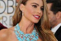 Celebrities Wearing Turquoise