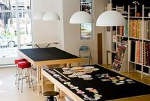 CRAFT ROOMS & WORK SPACE