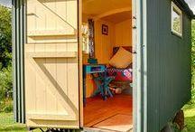 mobile huts
