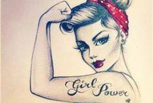 pin up girls