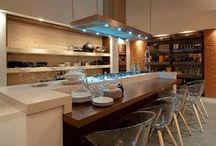 Bancada cozinha americana