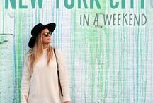 Visit New York City / Planning a trip to NYC?  There are so many things to do in New York City when you're visiting on a budget!  Tips on what to see, where to go, and where to stay as you add destinations to your New York City bucket lists.