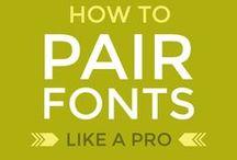 Fonts | Typography