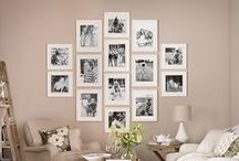 Photography as Home Decor / Inspiration and ideas for adding photography to your home