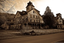 Creepy Houses / Buildings (Abandoned) / by Twitchy Witchy Studios