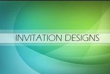 INVITATION DESIGNS >> Design So Fine / Graphic Design Portfolio for Design SO Fine - Invitation Designs - Wedding, Birthday, Party, Baby Shower etc