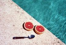 Poolside Nirvana / Chill by the pool on a hot Summer day | Pool Inspiration