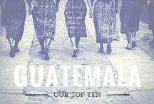 Guatemala Top Ten / Our top ten unmissable experiences in Guatemala - full article here:   www.alongdustyroads.com/posts/2014/9/12/our-guatemala-top-ten