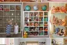 Dětský pokoj: organizace | Playroom organization