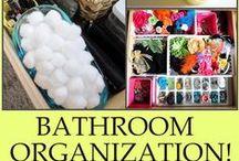 Koupelna: organizace | Bathroom organization