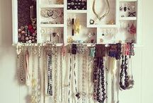 Šperky: organizace | Jewelry Storage organization