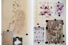 Fashion sketch and scrapbook inspiration / Collecting fashion sketches that inspire me to sketch like them!