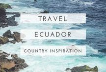 ecuador travel / Useful guides, beautiful photography and oodles of inspiration to help plan your trip to Ecuador.