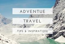 adventure travel / Adrenaline sports, amazing hikes and outdoorsy wonderfulness - here is adventure travel at its finest.