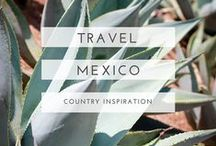 mexico travel / Useful guides, beautiful photography and oodles of inspiration to help plan your trip to Mexico.